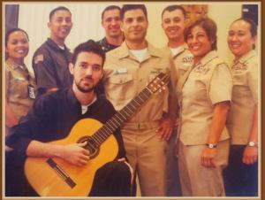 I performed for the US Navy's Hispanic Heritage Event
