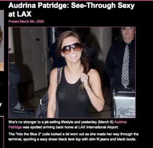 Audrina Patride GG 3-9-09