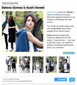 6-03-09 Selena Gomez JJr