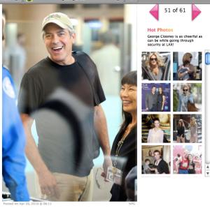 George Clooney Radar